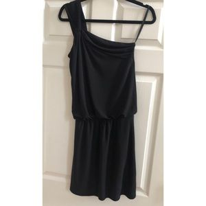 White House Black Market One Shoulder Dress - 0